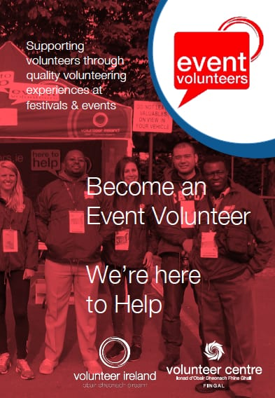 Download the new Event Volunteers Brochure