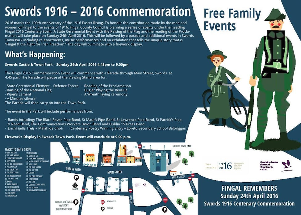 Swords 1916 Commemoration Event